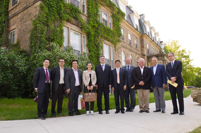 Meeting between Adex Board of Directors and the President of the University of New Brunswick (June 2011).